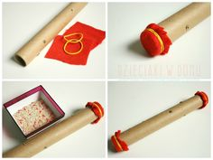 kij deszczowy - instrument dla dzieci