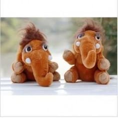 Wholesale Plush toys birthday gift gift figures the ice age small like like small mammoth doll