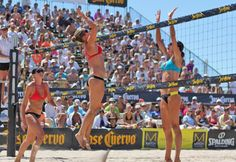 How to score a volleyball pro's body - The fastest way to the ripped abs and perfect bum of a professional volleyball player? Become a professional volleyball player. But if beach courts and hard serves aren't your thing, try focusing on the specific moves and conditions that harden the bodies of the world's best players.