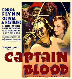 El Capitán Blood (Captain Blood), de Michael Curtiz, 1935