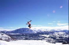 Skiing in Oppdal, Norway