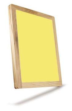 Sunbelt Manufacturing Company: 19x22-156 yellow mesh, Wooden Silk Screens