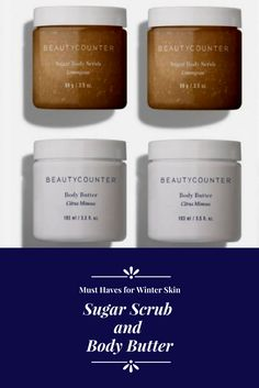 Better Beauty Vermont Sugar Scrub and BodyButter