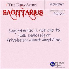 Daily Sagittarius Astrology Fact: 4000 years of Asian philosophy can't be wrong!  Check out a free I Ching reading today.  You'll be amazed.   Visit iFate.com today!