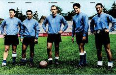 Delantera del Real Madrid en la temporada 1955-56