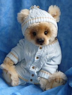 Baby Patrick Adorable OOAK Bear by Rosalie Frischmann~Mill Creek | Bear Pile