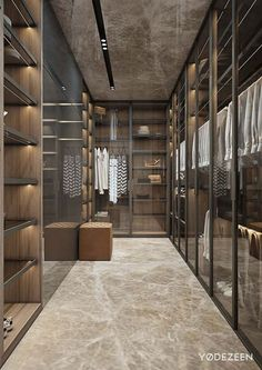 Charming closet design for the modern luxury home