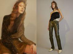 vintage shirt STUDIO W PARIS dress LANVIN. top, bangle and vintage shoes NICE PIECE PARIS vintage leather trousers CHINEMACHINE