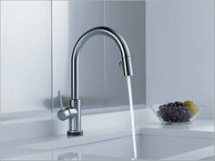 Ultra Modern Kitchen Faucets aleskÄr kitchen faucet, with side spray, chrome-plated/black