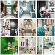 17 small kitchens = 17 big design ideas.