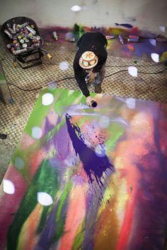 Freunde von Freunden — Ramon Martins — Artist, Studio, Glicério, São Paulo — http://www.freundevonfreunden.com/city/sao-paulo/ramon-martins/