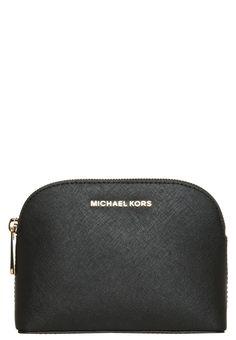 MICHAEL Michael Kors CINDY Kosmetiktasche black | Stylaholic #fashion #bags #michaelkors #taschen #luxury #luxus #designermode #mode