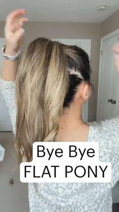 Work Hairstyles, Easy Hairstyles For Long Hair, Pretty Hairstyles, Side Bun Hairstyles, Hairdos, Summer Hairstyles, Medium Hair Styles, Curly Hair Styles, Hair Upstyles