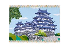 Kintaro Ishikawa, Osaka Castle on ArtStack #kintaro-ishikawa #art