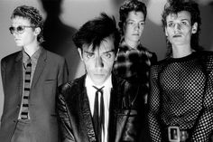 English band Bauhaus posed in London in August Left to Right: David J, Peter Murphy, Kevin Haskins, Daniel Ash. Get premium, high resolution news photos at Getty Images New Wave, Bowie, Bauhaus Band, London In August, Love And Rockets, Goth Bands, Siouxsie & The Banshees, Punk Goth, Alternative Music