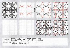 Dayzee - tangle pattern