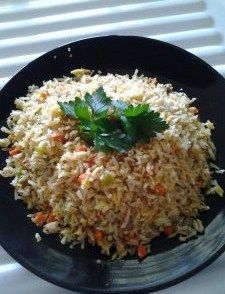 Fried rice Slow cooker style