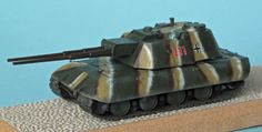 Flakpanzer E100 1/87 scale model by Trident