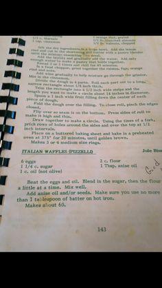 Pizzelles