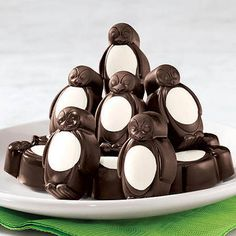 Boxed Mint Chocolate Penguins