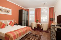 Find your most suitable apartment for your travel plans to Vienna, for business and private trips. Double Beds, Vienna, Traveling By Yourself, Furniture, 185, Single Beds, Home Decor, Style, Bedrooms