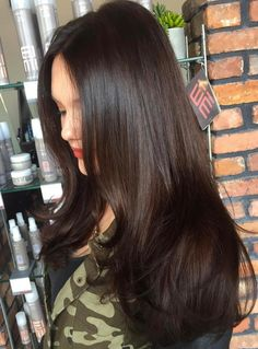 30 Best Hairstyles And Haircuts For Long Straight Hair Hair - hairstyles long brunette hairstyles long layers Long Brunette Hair, Long Curly Hair, Long Hair Cuts, Curly Hair Styles, Brunette Color, Dark Brunette Hair, Curly Short, Short Cuts, Straight Hairstyles