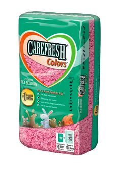 Carefresh Pet Bedding Confetti Colors Pink