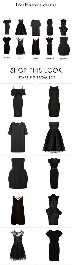 """Idealna mała czarna!"" by marta-waluk on Polyvore featuring moda, Givenchy, River Island, Non, Balmain, Roland Mouret, Marchesa i Whistles"