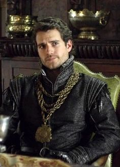 Charles Brandon as played by Henry Cavill