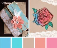 Color Inspirations – Shabby Chic