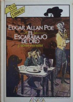El escarabajo de oro y otros cuentos/Edgar Allan Poe - Anaya