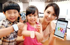 LG introducing a tracking device for children. Now the pre-K crowd can become accustomed to constant surveillance too.