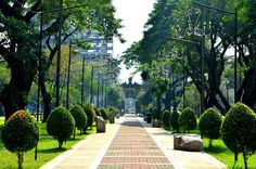 U.S.T. Lovers' Lane, Manila  © to its respective owner