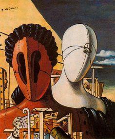 Nakonxipan: Giorgio de Chirico (July 10, 1888 – November 20, 1978) Masks