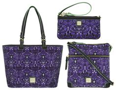 """Haunted Mansion"" and ""Princess and the Frog"" Dooney & Bourke Bags & MagicBands Released - WDW News Today"
