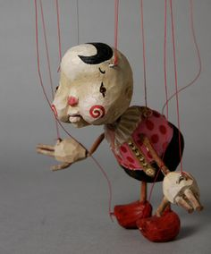The work of Sota Sakua, a Japanese dude with a serious knack for making cutesy, but super cool marionette!