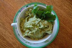 DIY Cilantro Hummus