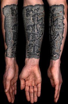 Insane mechanics tattoo Designs (31)