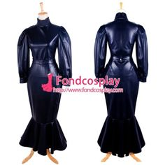 Fond Cosplay : Leatherette - O Dress Gothic Clothing School Uniforms Lolita Clothing Medieval Gown Venice Carnival Movie Costumes Cosplay Wig Cosplay Shoes Anime Costumes Game Costumes Other Costumes Cosplay Accessories Sissy Maid Uniform New Arrival Dress Outfits, Fashion Outfits, Dresses, Latex Wear, Maid Uniform, Faux Leather Dress, Sissy Maid, Cosplay Costumes, Shopping