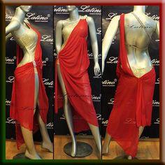 Latin Rhythm Salsa Ballroom Competition Dance Dress Size s M L LT558 | eBay