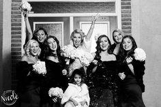 Jasmine & her bridesmaids!