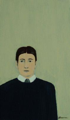 Theodore original painting by Elizabeth Bauman