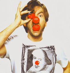 To celebrate today being Red Nose Day, we're taking a look back through our archives at some of David's best Comic Relief moments. Hot Scottish Men, Scottish Actors, David Mcdonald, David Best, Doctor Who Cast, Love Me Better, David Tennant Doctor Who, Red Nose Day