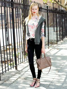 NYFW Model Street Style: Maud Welzen
