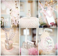 vintage princess party - LOVE THIS THEME!!! www.boutiquefestas.com