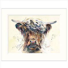 Stroppy Cow by Jake Winkle