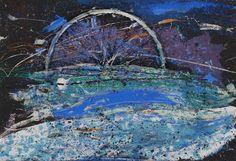 Christo Coetzee | Untitled | 1962 | Mixed media on canvas | 89 x 130 ...