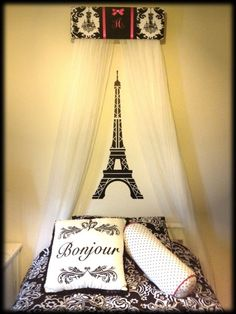 Bed Crown Canopy Personalized Curtains Sale Upholstered Princess Damask Chandelier Free Embroidery Paris Roomsparis