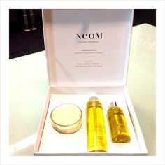 Repin it to win it! The Neom For New & Soon To Be Mums is an organic collection based on the new Cocooning scent. Contains: Cocooning Bath Oil, Body Oil and a gorgeous travel candle, worth £54!