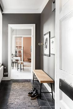 Here we showcase a collection of perfectly minimal interior design examples for you to use as inspiration. Check out the previous post in the series: Minimal Hallway Inspiration, Decoration Inspiration, Decor Ideas, Decorating Ideas, Interior Design Examples, Interior Design Inspiration, Small Apartments, Small Spaces, Studio Apartments
